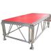 Adjustable stage platform for runway