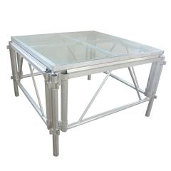 Aluminum Mobile stage platform