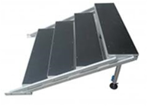 Portable stage stairs Alu-alloy