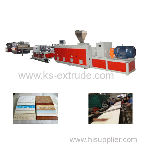 WPC PVC Door Board Making Machine