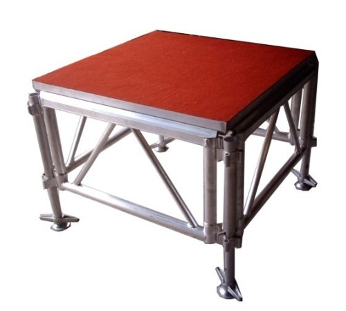 Aluminum 4x4ft portable stage