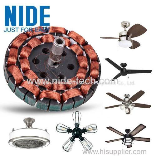 автоматическая машина для намотки потолочного вентилятора для изготовления катушки статора двигателя настольного вентилятора