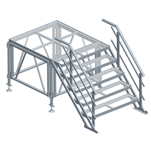 Aluminum Round Stage Mobile Stage