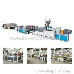 WPC PVC Foam Board Extruder Machine