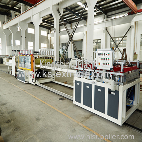 WPC PVC Foam Board Making Machine Line