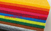 high quality wool felt material chemical ciliated felt to make carpet dust-proof pad heat insulation pad