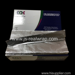 Pop Up Aluminium Foil Sheets