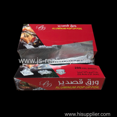 Interfolded Aluminium Foil Sheets