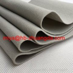 high-quality pressed 100% wool felt fabric chemical ciliated felt used to make womens' fashion wool felt