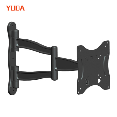 "Swivel 180 degrees/articulating wall mount tv bracket for 15""-37"" screens"