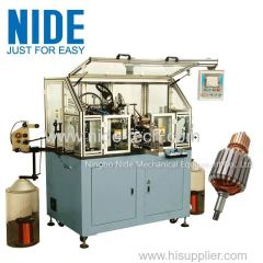 China Automatic elelctric motor armature winding machine for universal motor rotor