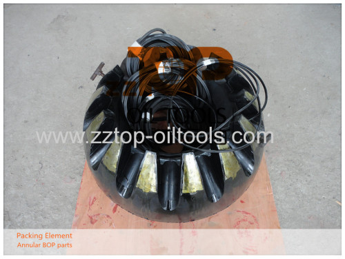 """13 5/8"""" x 10000psi Spherical Rubber Annular BOP Packing Element"""