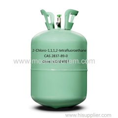 Freezer gas HCFC-124 CAS 2837 89 0