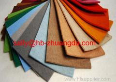 Customized wholesale Needle Punched crafts wool felt