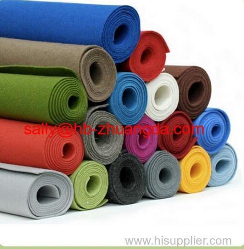 wool blend felt fabric and wool felt sheet