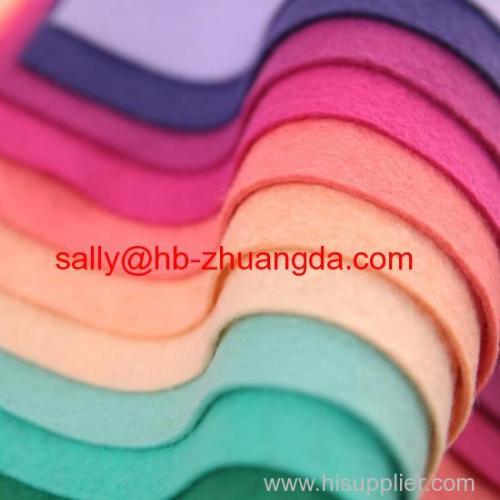 Good quality wool felt factory wholesale wool blend felt
