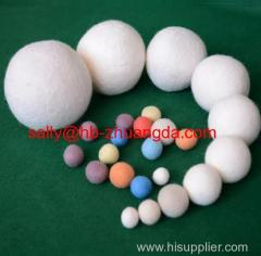 100% wool felt dryer ball