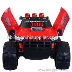 two motor two battery kids car