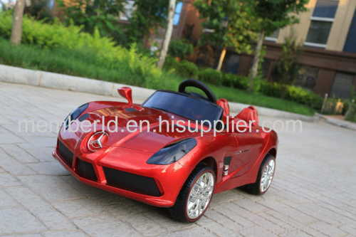 Two Motor Painting Driving Car Double 6V battery fashion Car Ride On Car Kids Electric