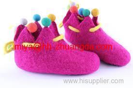felt shoes making material 100% pressed woolen felt high-quality wool felt fabric