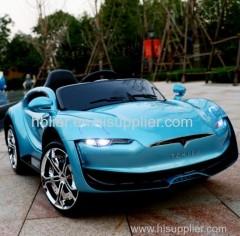 plastic material battery baby car