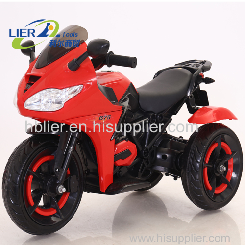 licolorful light children motorcycle with motor remoto control motorcycle for kids