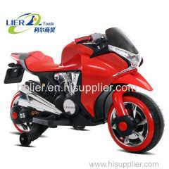 kids electric motorcycle witj light
