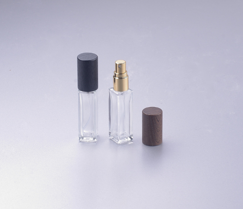 7ml perfume glass bottle with wooden lid