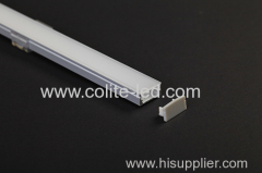 U shape surface mount Aluminum profile