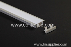 U shape recessed LED Aluminum profile