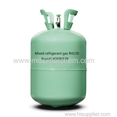 Mixed refrigerant gas R422D