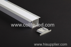 Big size recessed aluminum profile for high power LED strip