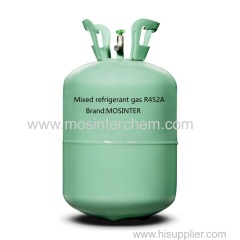 Mixed refrigerant gas R452A