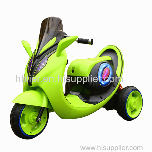 Rechargeable battery kids motorcycle with light