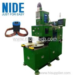 Electric induction motor high slot filling rate stator automatic coil winding machine manufacturer