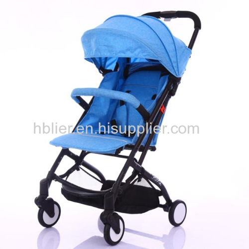 Infant Stroller Baby Sleeping Basket Folding Umbrella Baby Stroller 3 in 1 Oxford Cloth Baby Pram