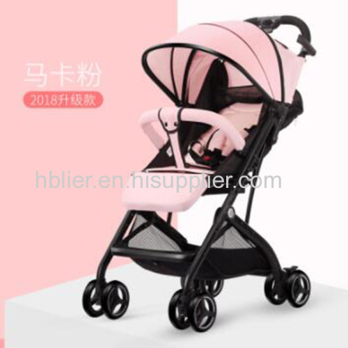 Polyester Material and 7-36 Months Baby pram Suitable Age travel system baby stroller