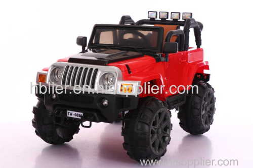 kids toy ride on car with leather seat kids 12v battery electric car toy