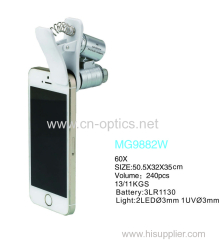 MINI MICROSCOPE WITH MOBILE PHONE CLIP SERIES