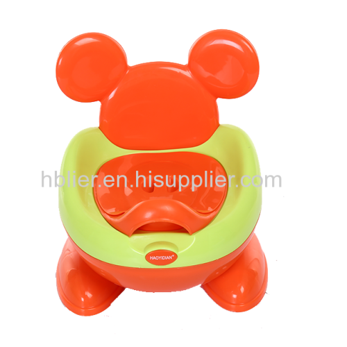 Colorful portable kid plastic toilet training seat