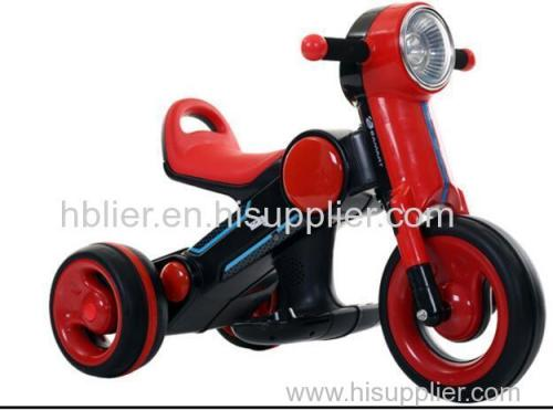 Battery Power and Plastic Material kid three wheel motorcycle
