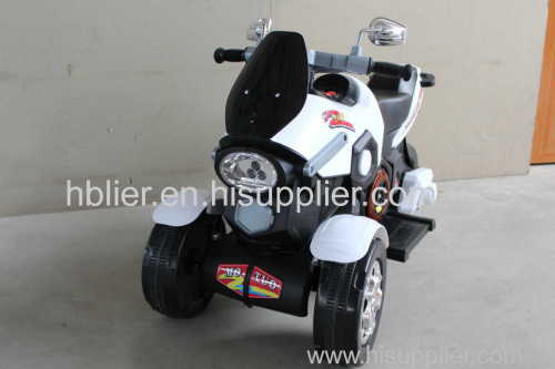 Kids electric motorcycle for rechargeable 3 wheel baby ride on mini electric motorcycl