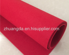 3mm color felt cloth back glue non-woven felt crafts sound insulation felt felt pad