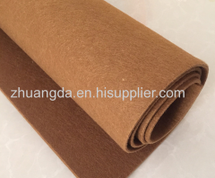 Synthetic fibre felt polyester non-woven synthetic fibre felt