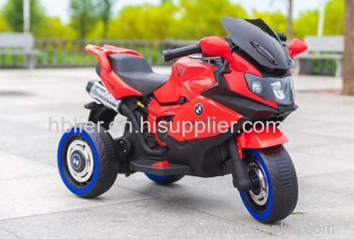 Battery Power and Ride On Toy Style kids ride on plastic motorcycle
