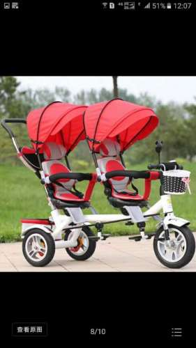 Professional production baby tricycle spare parts 3 wheels kids tricycle