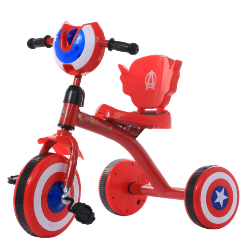 Manpower Power and Steel Material 3 wheel kids tricycle baby tricycle