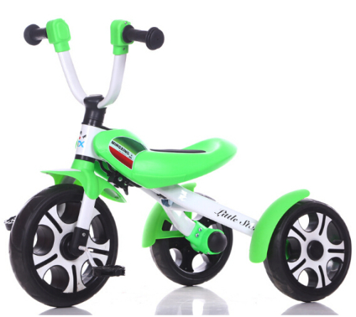 Air wheel Kid Push Tricycle Child Tricycle 3 Wheel with Canopy Tricycle
