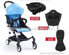 oxford cloth Material and Stainless Steel Frame Material stroller baby