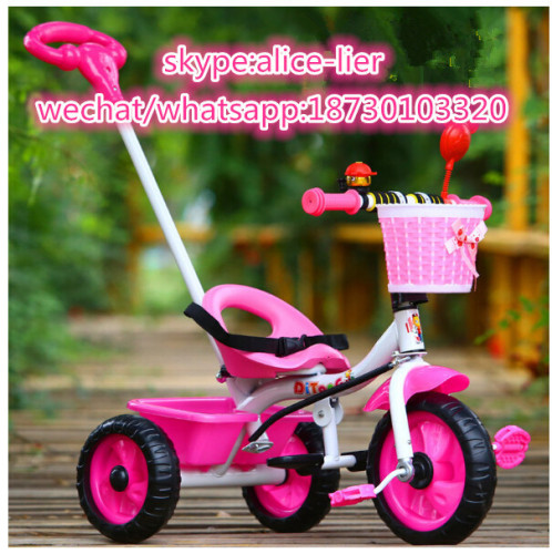 Cheap Baby Ride On Toys Kids Tricycle Child Tricycle With Push Bar
